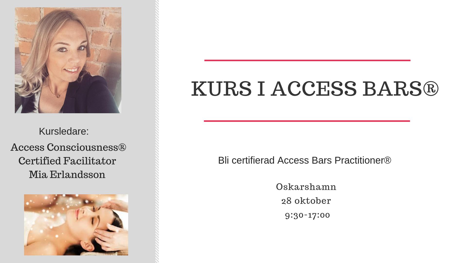 kurs i Access Bars®
